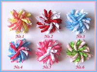 Wholesale about quot Korker Hair bow Baby hair bows clips grosgrain ribbon bows hair bow M004