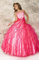 Best- selling Beaded Girl's Pageant Dress Flower Girl Dresses...