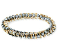 Wholesale New Designer inspired Vintage Twist Bracelet chosse gold silver jewelry