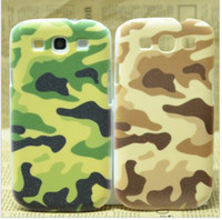 Wholesale Camouflage Plastic Hard Back Cover Case Skin For i9300 SIII S III S3 S g