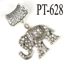 Elephant Pendants alloy Charms Jewelry scarf Pendant with Rhinestone Charms Top Wholesales,PT-628