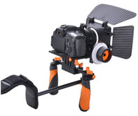Wholesale Aputure Follow Focus FF Shoulder Mount Camera Rig Matte Box for Canon D D D D EOS DSLR