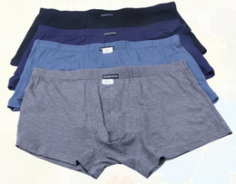 Wholesale Hot bamboo Super softness and XL XL XL big size men s underwear