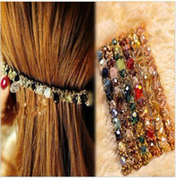 Wholesale hot new hair jewelry hair accessories hairpin women crystal hair cilp