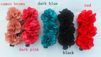 Wholesale hot hair pin popular hair jewelry popular women three flower jaws clip banana clips