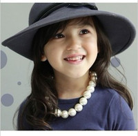 Wholesale jewelry popular necklace children imitaate pearl necklace bracelet earring set hot new