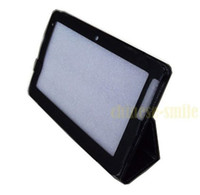 Wholesale Folio Leather Case Stand Cover for Viewsonic G Tablet