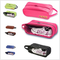 Wholesale New Waterproof Travel Shoes Bag Shoebox Storage Case Outdoor Cheap Color V3455