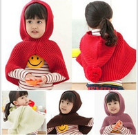 Wholesale New Arrivals Children Hooded Wraps Girls Girl hoodies wrap kids caps Wraps dandys