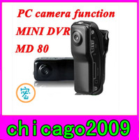 Wholesale 5PCS Spy Camera Mini DV DVR Sports Video Camera MD80 DC x480 Helmet Camera Action Camcorder