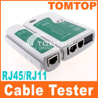 Wholesale 5pcs RJ45 RJ11 RJ12 CAT5 UTP NETWORK LAN USB CABLE TESTER C119
