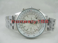 replicas - mens ht brand new date replicas luxury Silver Automatic cheap Mechanical luxury Fashion wristwatch men watch Stainless Men s Sport Watches