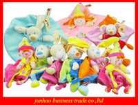 Beige baby cuddle toy - NICOTOY Baby Plush Toy Cuddle Cloth Nicotoy Toy With Rattle Soft Plush Baby Toy CE MARK Mix Style