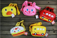 Girl Pink PU Wholesale--Hot saling. Cartoon small backpack. Children's bags. Cute baby messenger bag. Chest pack