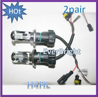 Bulb hid headlights - china HID pair W Car Xenon HID H4 Hi Lo K k Beam Bulb foglight headlights