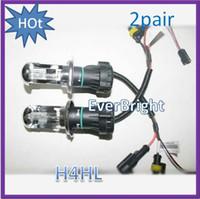 Bulb hid bulb - china HID pair W Car Xenon HID H4 Hi Lo K k Beam Bulb foglight headlights