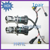 Wholesale china HID one pair W Car Xenon HID H4 Hi Lo K k Beam Bulb