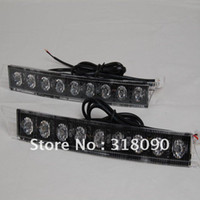 Wholesale Led daytime Daytime Running Fog Light Kit EURO DRL DALight car day light W high power Audi style
