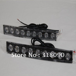 Wholesale 1pair Led daytime Daytime Running Fog Light Kit EURO DRL DALight car day light W high power Audi style