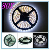 Wholesale 80 LED Strip Light SMD Lamp M cm Leds EMS DHL SHIPPING