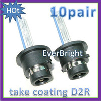 Wholesale 10pair W D2R coating Xenon HID Foglights HID Bulbs K K