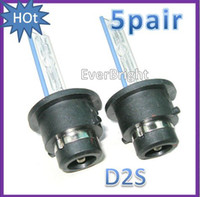 Wholesale 5pair D2S D2C W Xenon HID K K Foglights HID Bulbs
