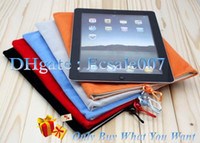 Wholesale 10PCS Universal Soft Sleeve Case Cover Cloth Bag Velvet Pouch For Inch Tablet PC MID