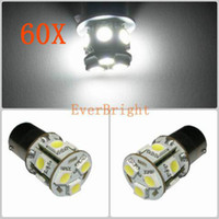 Reversing lamp audi tail light bulb - 60 X V DC SMD BA15S BAU15D Auto Car Turn Lamp Brake Tail Parking Light