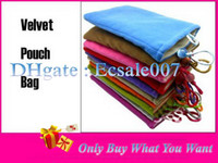 Wholesale Vogue Universal Soft Sleeve Case Cover Cloth Bag Velvet Pouch For Inch Tablet PC
