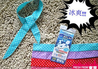 Wholesale Summer Cooling Scarf Cool Water Band Speed to Cool Towel Cooling Scarf Ties Neck Scarves Hypothermia
