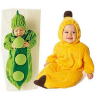 Wholesale hot sale Baby sleeping bag caterpillar pea banana penguin chilli Pumpkin sleeping bags sack
