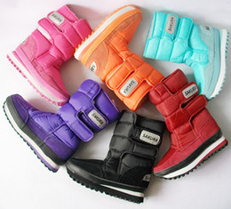 Wholesale Hot Sale Women s Girls Winter Warm Lining Snow Joggers Boots Shoes US Size