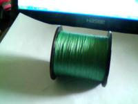 Wholesale pe dyneema braid fishing line super strong m roll Lb