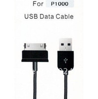 For Samsung China (Mainland) Samsung Free Shipping+100pcs USB Data Cable Sync Charger Cable for Samsung Galaxy Tab P1000 1M Black