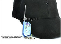 Wholesale Multifunction Spy Camera Hat MP3 Player Bluetooth Remote Control New Arrive