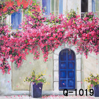 Wholesale 3 M Hand Painted Photography Scenic Backdrop Background TIE DYE