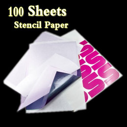 Wholesale 100 Sheets Top Quality A4 Tattoo Transfer Stecial Paper Spirit Master hot sales