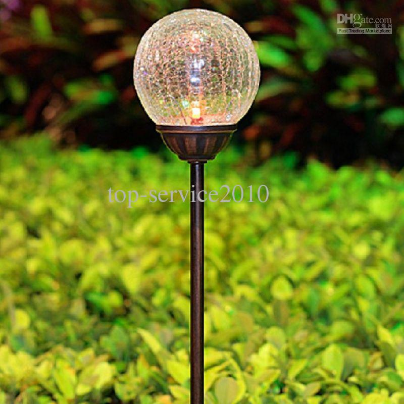 2017 led outdoor lights solar garden lights solar lawn lamp garden landscape from top - Decorative garden lights ...