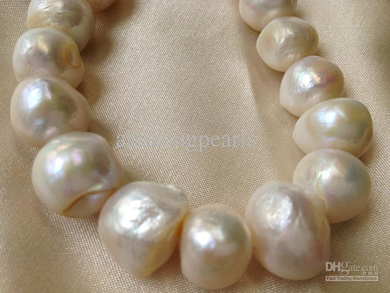 2018 12 14mm Huge Sized Cultured Freshwater Pearls Round