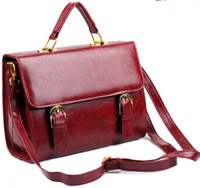 Wholesale Summer Korean Women Retro Bags Lady s Handbags Shoulder Bag Agraffe Postman Messenger Bags Colors