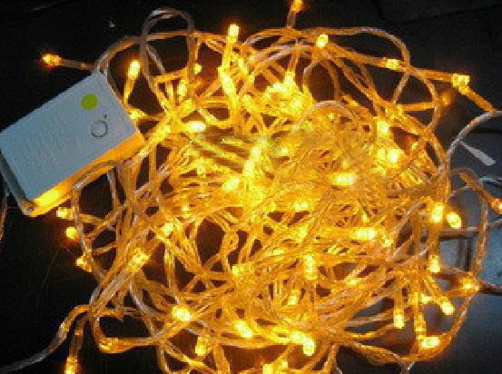 Free Shipping 30 M Yellow Led Light String Home Decorative Light String
