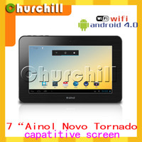 Wholesale Hot Selling Ainol novo Tornados Android tablet pc Cortex A9 GHz GB Camera WIFI