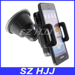 Wholesale Universal Car Holder Cell Phone Car Mount Adjustable Width Windshield Cradle for all Cell Phone