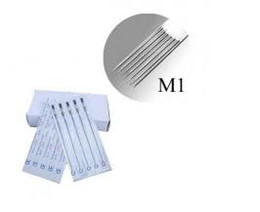 Wholesale Pro Bag Sterilized Staineless Steel Assorted Single Stack Magnum M1 Tattoo Needles