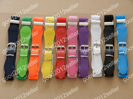 Wholesale Baby elastic belt children belt boys and girls candy color belt elastic