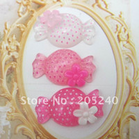 beauty cabochons - Very Beauty very popular and kawaii flat back resin cabochons for DIY decoration