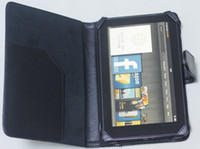 Wholesale DHL FREE Universal PU leather Wallet Pouch Case For inch Tablet P3100 Kindle Fire Google Nexus