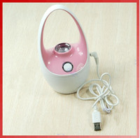 Wholesale Ultrasonic Mini USB Humidifier Diffuser Air Freshener Filter basket Shape for Car Home Room colors
