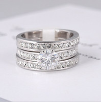 Wholesale 2015 New valentine s day Gift KRGP Jewelry Ring ring K gold plated crystal Simulated Diamond finger ring CZdiamond Rhinestone colors