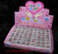 Wholesale New BOXES Fashion Pretty Barbie Girl s Ring Party Gift Children Best Gift